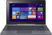 "Asus - Transformer Book Net-tablet PC 10.1"" In-plane Switching Tech. Intel Atom Z3740 1.33GHz - Gray"