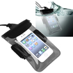eForCity - Waterproof Bag Case for Samsung Galaxy® Note 3 Note III N9000 - Clear Black