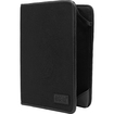 USA Gear - Protective eReader Folio Cover Case w/Scratch Resistant Lining f/ Barnes and Noble NOOK HD - Black