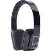iDeaUSA - AtomicX Bluetooth Headphone w/ Mic (Black) - Black
