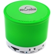 AtomicX - ATOMICX SP-S10NG PORTABLE BLUETOOTH SPEAKER W/ MIC - Neon Green - Neon Green