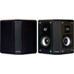 Fluance - AVBP2 Wood Bipolar Surround Sound Satellite Speakers - Black Ash Vinyl Veneer