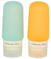 Travelon - Travelon ~ Smart Tubes Twin Pack 2oz Capacity