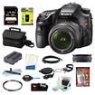 Sony - Bundle A (Alpha) SLT-A58K - Digital Camera