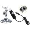 AGPtek - Digital Microscope Endoscope Magnifier Video Cam-8 LEDs 2 MP Maximum 800X - Black