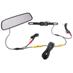 "AGPtek - 4.3"" TFT LCD Car Rear View Rearview DVD Mirror Monitor with Backup Night Vision IR Camera"