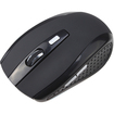 AGPtek - 2.4GHz High Quality Portable Wireless Optical Mouse/Mice with USB 2.0 Receiver for PC Laptop - Black - Black