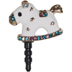 Fosmon - PORTY-HAT Cute Fancy Bling Dust Cap for Any 3.5mm Audio Jack Port Smartphones and Tablets