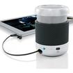 Brookstone - Mobile Mini Speaker with Rubber Tech-Grip Casing - Black