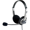 SYBA Multimedia - Stereo Headset with Microphone - Black - Black