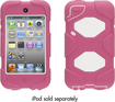 Griffin Technology - Pink/White Heavy Duty Survivor All-Terrain Case + Belt Clip for iPod touch (4th gen.) - Pink