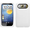 Insten - Silicone Skin Soft Gel Case for HTC HD7/HD7s - White