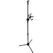Seismic Audio - iPad and Microphone Adjustable Stand - For Most Tablets, Android, Kindle, etc