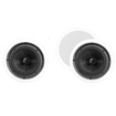 "Theater Solutions - Theater Solutions 8"" In Ceiling Home HD 3 Speakers Set 900 Watts TSS8C-3S - White"