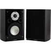 Fluance - High Performance Two-way Bookshelf Surround Sound Speakers (XL7S-DW) - Dark Walnut, Piano Black