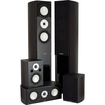 Fluance - High Performance 5 Speaker Surround Sound Home Theater System