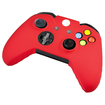 eForCity - Silicone Skin Case For Microsoft Xbox One Controller - Red - Red