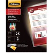 Fellowes - Glossy Pouches - 3 mil, Letter, 100 pack