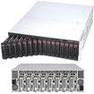 Super Micro - MicroCloud Barebone System - 3U Rack-mountable - Intel C224 Chipset - Socket H3 LGA-1150 - Black
