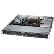 Super Micro - SuperServer Barebone System - 1U Rack-mountable - Intel C224 Express Chipset - Socket H3 LGA-1150 - Black