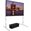"Da-Lite - Fast-Fold Deluxe Projection Screen - 120"" - 4:3 - Portable"