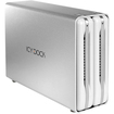 Icy Dock - ICYRaid DAS Array - 2 x HDD Supported - 8 TB Supported HDD Capacity