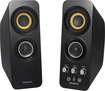 Creative Labs - T30 2.0-Channel Wireless Bluetooth Speaker System - Black - Black