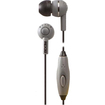 BOOM - Spoken Leader In-Ear Headphones with 1 Button Mic - Gray - Gray