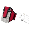 eForCity - In-ear HeadSet and Running Armband Sportband Bundle for iPod iTouch 2 4 iPhone 1 3 3GS G