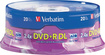 Verbatim - Double Layer DVD+R DL 8.5GB 2.4x 20pk Spindle