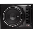 "Rockford Fosgate - P21X10 600W Max, Punch P2 Single 10"" P2D2-10 Car Subwoofer Enclosure - Black"
