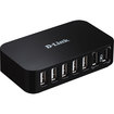 D-Link - DUB-H7 7 Port High Speed USB 2.0 Hub