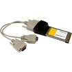 Startech - 2 Port CardBus Serial PC Adapter Card