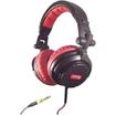 Soniq - High Definition DJ Headphones - Black, Red - Black, Red