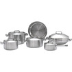 Berghoff - Neo 5-ply 10-pc Cookware Set