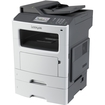 Lexmark - MX611DTE Multifunction Laser Printer - Gray