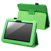 eForCity - Stand Leather Case Cover for Amazon Kindle Fire HD 7-inch 2012 edition - Green