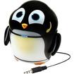 GOgroove - Pal Penguin Portable Rechargeable Speaker w/ Dual High-Excursion Drivers & Subwoofer - Black