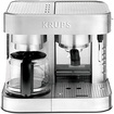 Krups - SS Combination Espresso Machine - Die Cast - Silver