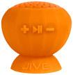 Digital Treasures - Lyrix JIVE Water Resistant Bluetooth Speaker - Orange - Orange