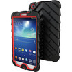 Gumdrop - Drop Tech Series Case for Samsung Galaxy Tab 3 8.0 - Black, Red - Black, Red