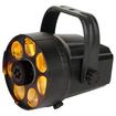 American DJ - MICRO PHASE Tri Phase type Moonflower 3 Watt RGB LED FX Light - Multi-colored - Multi-colored