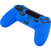 eForCity - Silicone Skin Case For Sony PlayStation 4 (PS4) Controller - Blue - Blue