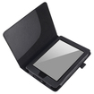 eForCity - Leather Case for Amazon Kindle Paperwhite / Kindle Touch - Black