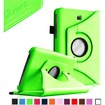 Fintie - Rotating PU Leather Case Cover for Samsung Galaxy Tab 3 7.0 inch Tablet - Green