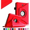 Fintie - Rotating PU Leather Case Cover for Samsung Galaxy Tab 3 7.0 inch Tablet - Red