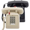 Scitec - 2510D-MW Single-Line Desk Phone - Ash