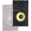 Monoprice - 6-1/2 Inches Easy-Install In-Wall Speaker (Pair)