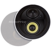 Monoprice - 6-1/2 Inches Dual Woofer- Micro Flange In-Ceiling Speaker (Pair)