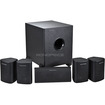 Monoprice - 5.1 Channel Home Theater Satellite Speakers & Subwoofer - Black